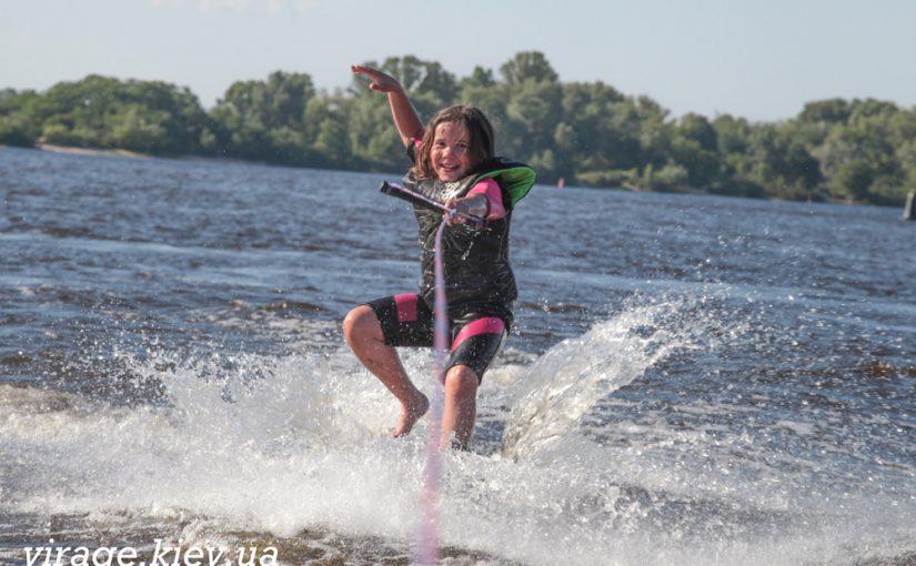 Тренировки по водным лыжам